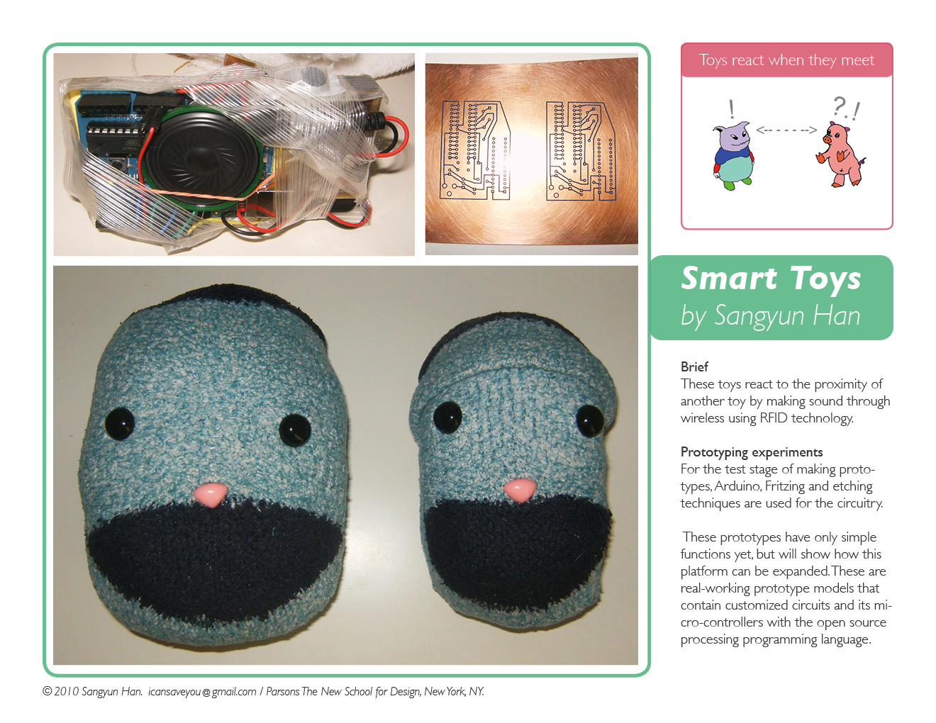 Smart Toys by Sangyun Han (c) 2010.