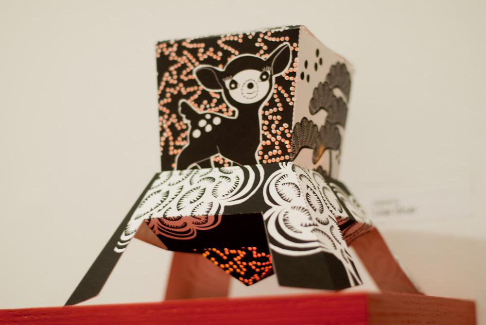 Sparkle Labs' Tabla Rasa Papertronics