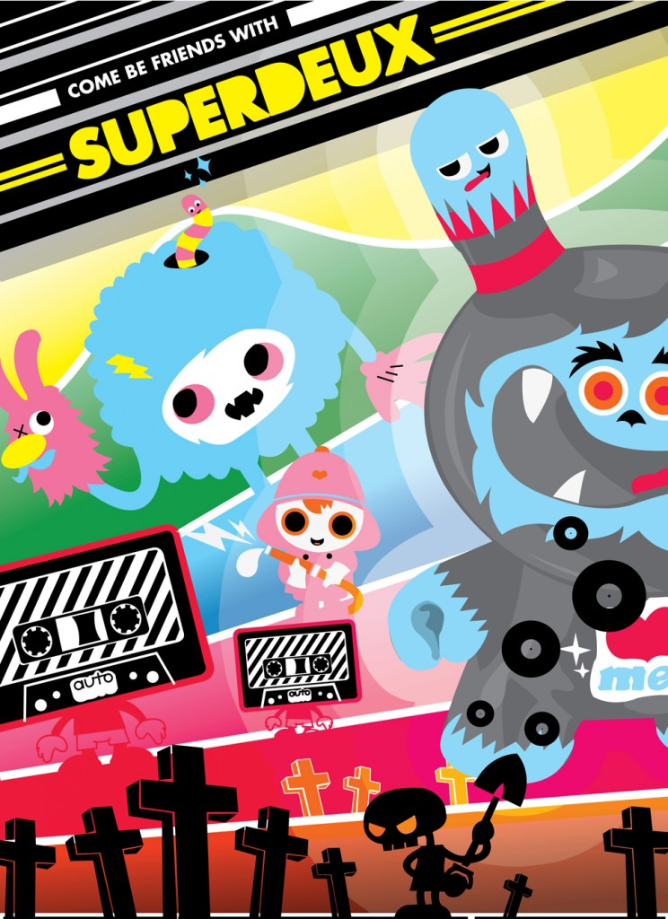Superdeux Poster for KidRobot